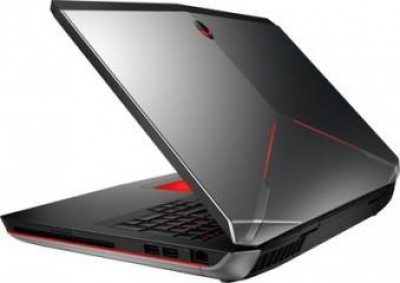 Dell Alienware 17 (W560905IN9) Laptop (4th GenCore i7 4800MQ- 16GB RAM- 750GB HDD+64GB SSD- 43.94cm (17.3)- Win8 SL- 3GB Graph) (Anodised Aluminium)