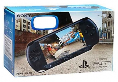 Sony Play Station Portable With Free Game Street Cricket Champion 2