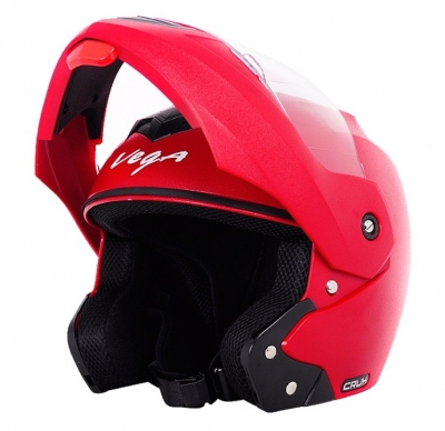 Vega Crux Flip Up Helmet Red