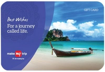 Make My Trip Giftcard worth Rs 5000