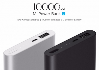 10000mAh Mi Power Bank 2i