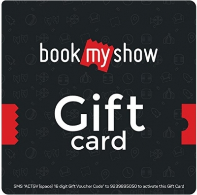 Book My Show Gift Card