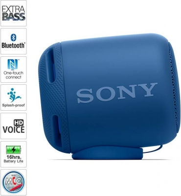 Sony SRS-XB10 /LC 10 W Portable Bluetooth Speaker  (Blue, Mono Channel)