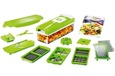 Urban Living Multifunctional Dicer –cuts, chops, grates and slices