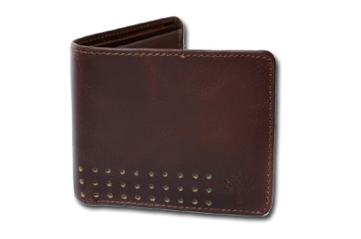 Woodland Brown Colour Leather Wallet